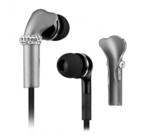 Deos Shine Earphone Cover (Silver)