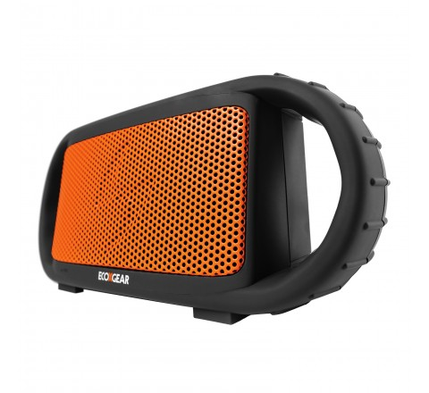 ECOXGEAR ECOXBT Waterproof Wireless Bluetooth Speaker (Orange)