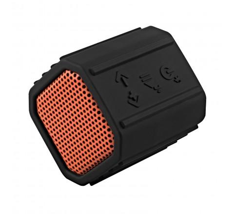 ECOXGEAR ECOPEBBLE IPX7 Waterproof Wireless Bluetooth Speaker (Orange)