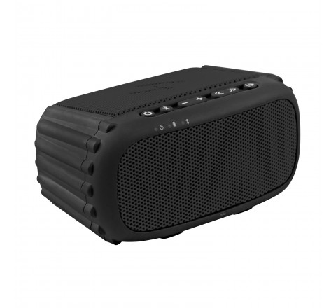 Ecoxgear ECOROX 100% Waterproof Portable Rugged Outdoor Wireless Bluetooth Speaker with Built-In Mic (Black)