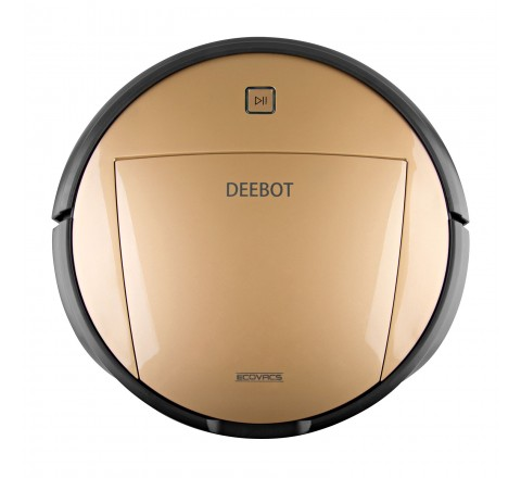 Ecovacs Deebot D80 Floor Cleaning Robot (Gold/Black)