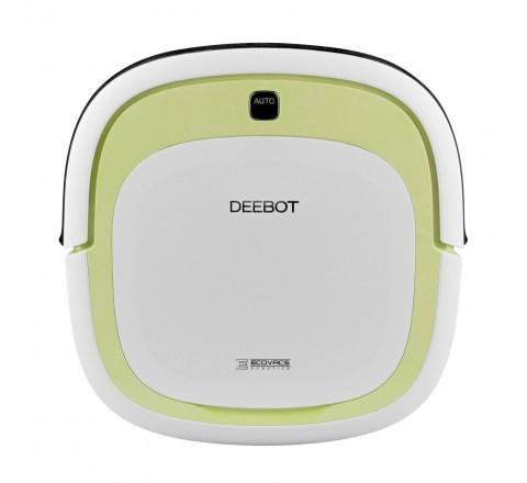 Ecovacs Deebot DA60 Slim Robotic Vacuum Cleaner for Bare Floor (Green)