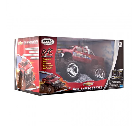 Eztec Chevy Silverado 1:19 Scale Full-Function RC Truck (Multi)