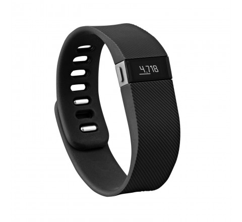 Fitbit Charge Wireless Activity Wristband (Black-Large)