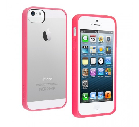 Griffin Reveal Case for Apple iPhone 5/5S/SE (Pink)