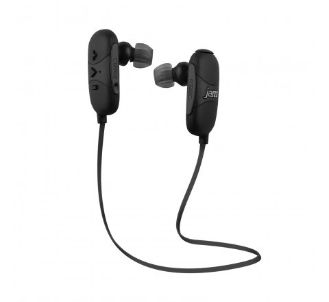 HMDX Jam Transit Wireless Bluetooth Earbuds (Black)