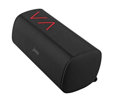 HMDX Jam Thrill Wireless Bluetooth Stereo Speaker (Black/Red)