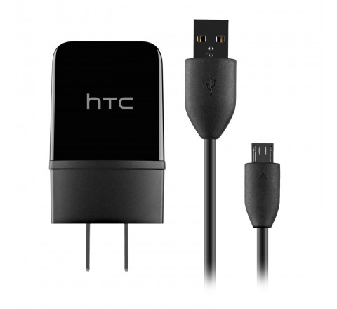 HTC TC P900 5V 1.5A Travel Charger for Micro-USB Devices (Black)
