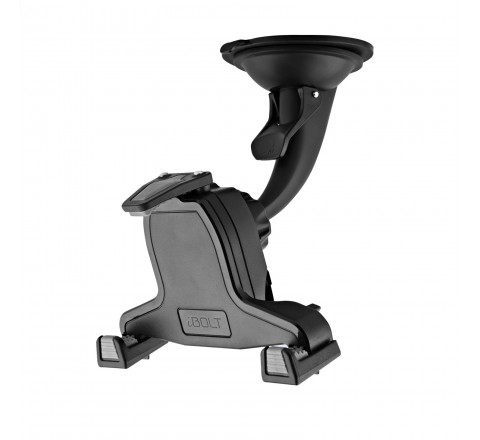 iBolt xProDock Active Car Dock/Holder/Mount for Samsung Galaxy S3, S4, Note 2, & Note 3 (Black)