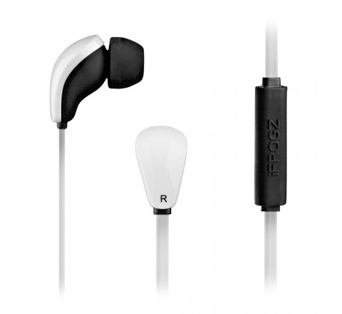 iFrogz Audio Coda Buds with Mic (White)