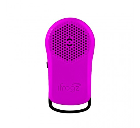 iFrogz Tadpole Wireless Bluetooth Speaker (Purple)