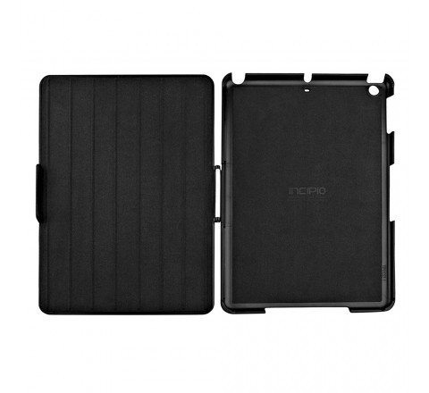 Incipio Flagship Folio Case/Cover for Apple iPad Air (Black)