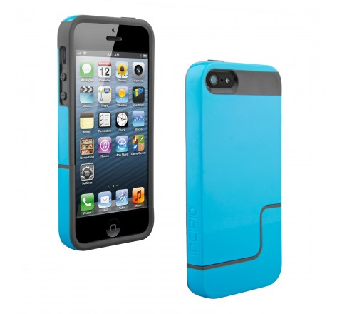 Incipio Half LIfe Hard Case for Apple iPhone 5/5S (Blue/Gray)