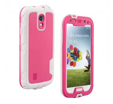 Incipio ATLAS Ultra-Rugged Waterproof Case for Samsung Galaxy S4 (Pink)