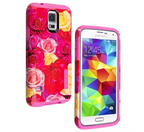 Incipio DualPro Hard Shell Case for Samsung Galaxy S5 (Rose)