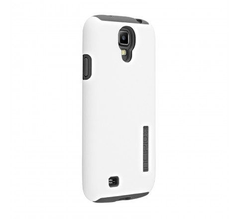 Incipio Double Cover Hard Shell and Silicone Cover for Samsung Galaxy S4 (White)
