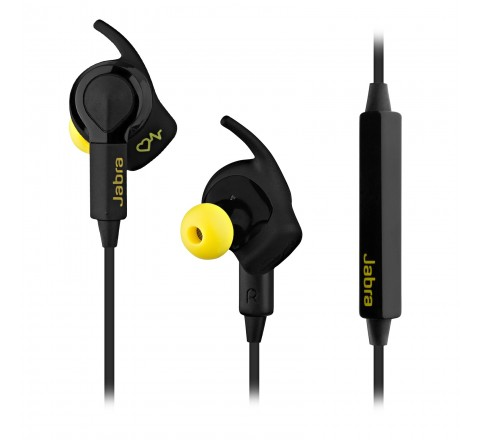 Jabra Sport Pulse Wireless Bluetooth Stereo Earbuds (Black)