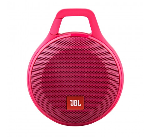 JBL Clip+ Splashproof Portable Bluetooth Speaker (Pink)