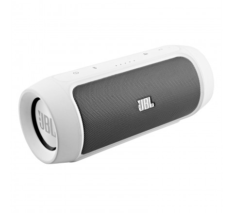 JBL Charge 2 Wireless Bluetooth Speaker (White)