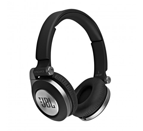 JBL E40BT Wireless Bluetooth On-Ear Stereo Headphones (Black)