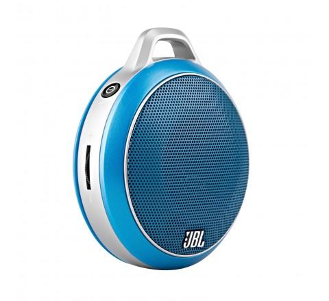 JBL Micro Wireless Bluetooth Speaker (Blue)