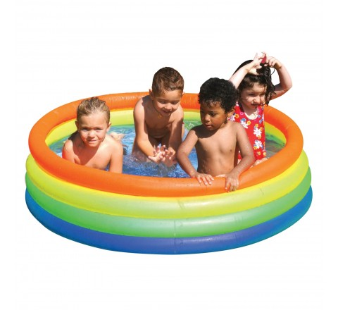 "Attajoy Neon Fashion Pool 59"" x 16"" - for ages 2-6"