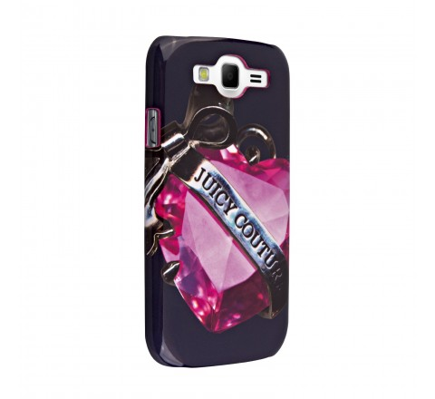 Juicy Couture Hard Snap-on Case Cover for Samsung Galaxy S3 (Blue/Pink)