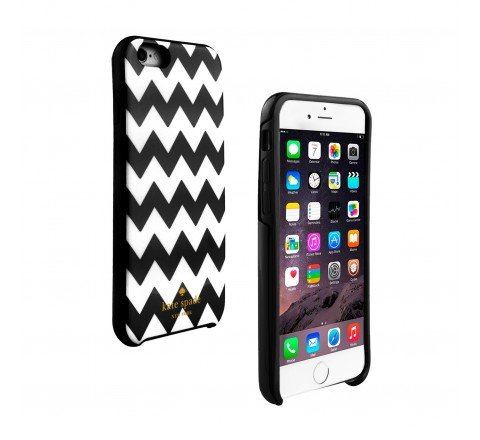 Kate Spade Protective Case for Apple iPhone 6 Plus/6s Plus (Black/White)