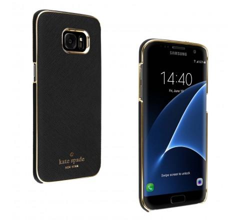 Kate Spade New York Case for Galaxy S7 Edge (Black)
