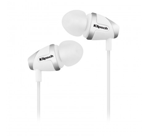 Klipsch Image S4i-II In-Ear Earbuds with 3-Button Remote (White)