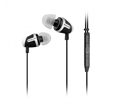 Klipsch Image S4A-II In-Ear Enhanced Bass Noise-Isolating Earbuds (Black)