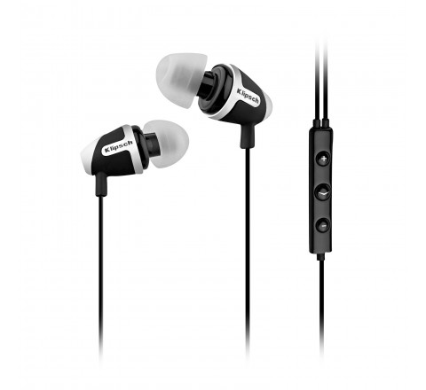 Klipsch Image S4i-II In-Ear Earbuds with 3-Button Remote (Black)
