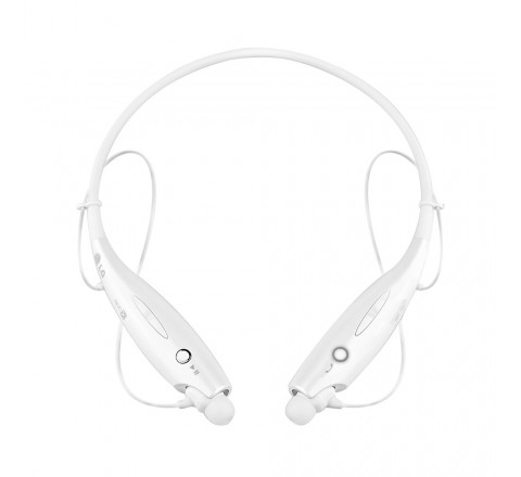 LG HBS-730 Tone+ Wireless Stereo Headset (White/Silver)