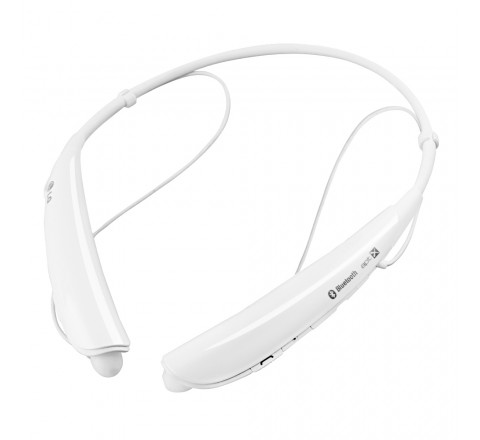 LG HBS-750 Tone Pro Wireless Stereo Headset (White)