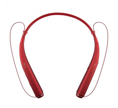 LG HBS-780 Tone Pro Wireless Bluetooth Stereo Headset (Red)