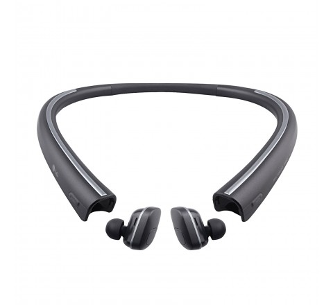 LG HBS-F110 Tone Free Bluetooth Wireless Earbuds (Black)