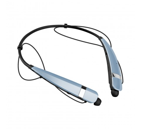 LG HBS-760 Tone Pro Wireless Bluetooth Stereo Headset (Light Blue)