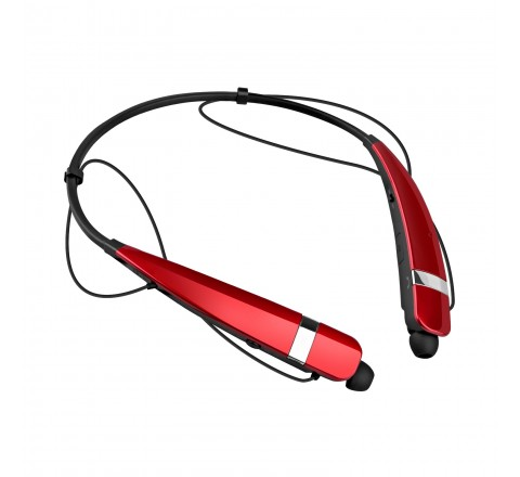 LG HBS-760 Tone Pro Wireless Bluetooth Stereo Headset (Red)