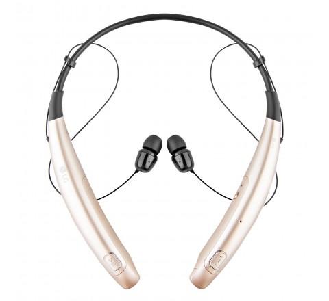LG HBS-770 Tone Pro Wireless Bluetooth Stereo Headset (Gold)