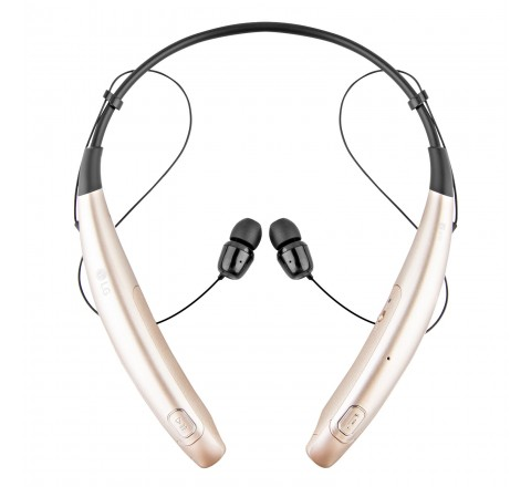 LG HBS-770 Tone Pro Wireless Bluetooth Stereo Headset (Gold)