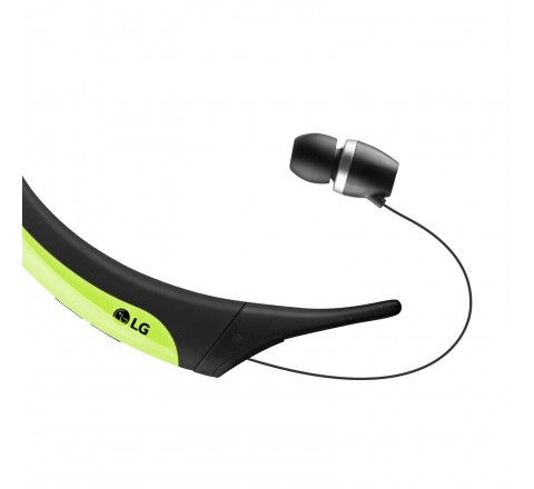 LG HBS-850 Tone Active Wireless Bluetooth Headset (Lime/Black)