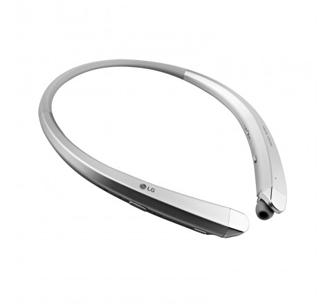 LG HBS-910 Tone Infinim Wireless Bluetooth Stereo Headset (Silver)