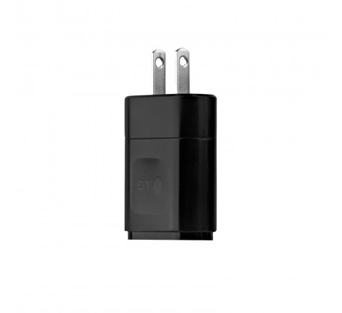 LG MCS-02WR Charging Cube with USB Port (Black)