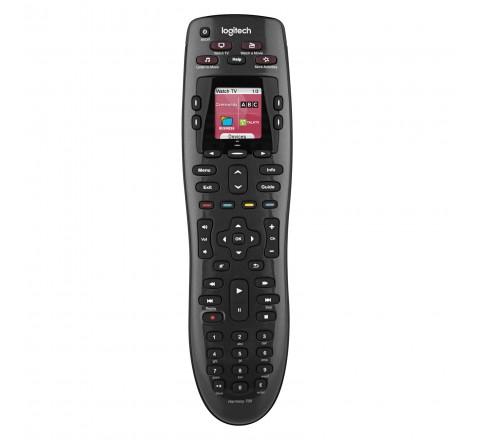 Logitech Harmony 700 Rechargeable Remote (Black)