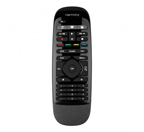 Logitech Harmony Smart Control Add-On Companion Programmable Remote for Harmony Ultimate Hub (Black)