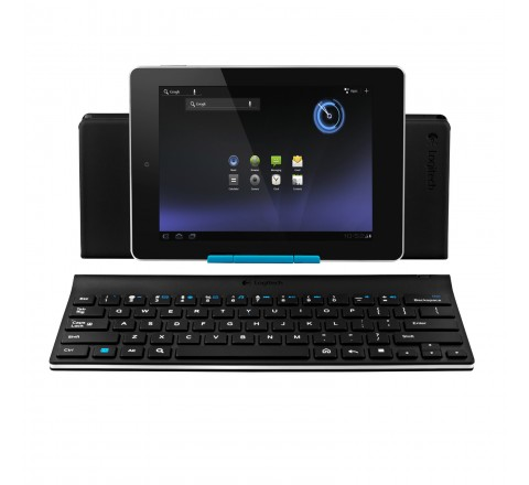 Logitech 920-003390 Tablet Keyboard for Android 3.0 Plus (Black)