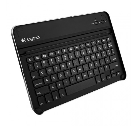 Logitech Wireless Bluetooth Keyboard Case for Samsung Galaxy Tab 10.1 (Black)