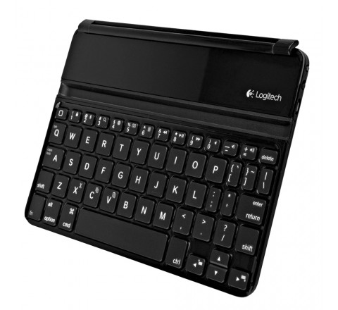 Logitech Ultrathin Bluetooth Keyboard Cover for Apple iPad Mini 1/2/3 (Black)