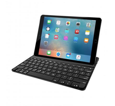 Logitech Ultrathin Magnetic Clip-On Keyboard Cover for iPad Air (Space Gray)