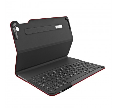 Logitech Type+ Bluetooth Keyboard Case for Apple iPad Air (Red)